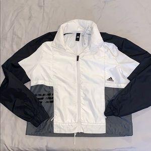 Women's Adidas windbreaker jacket size Small